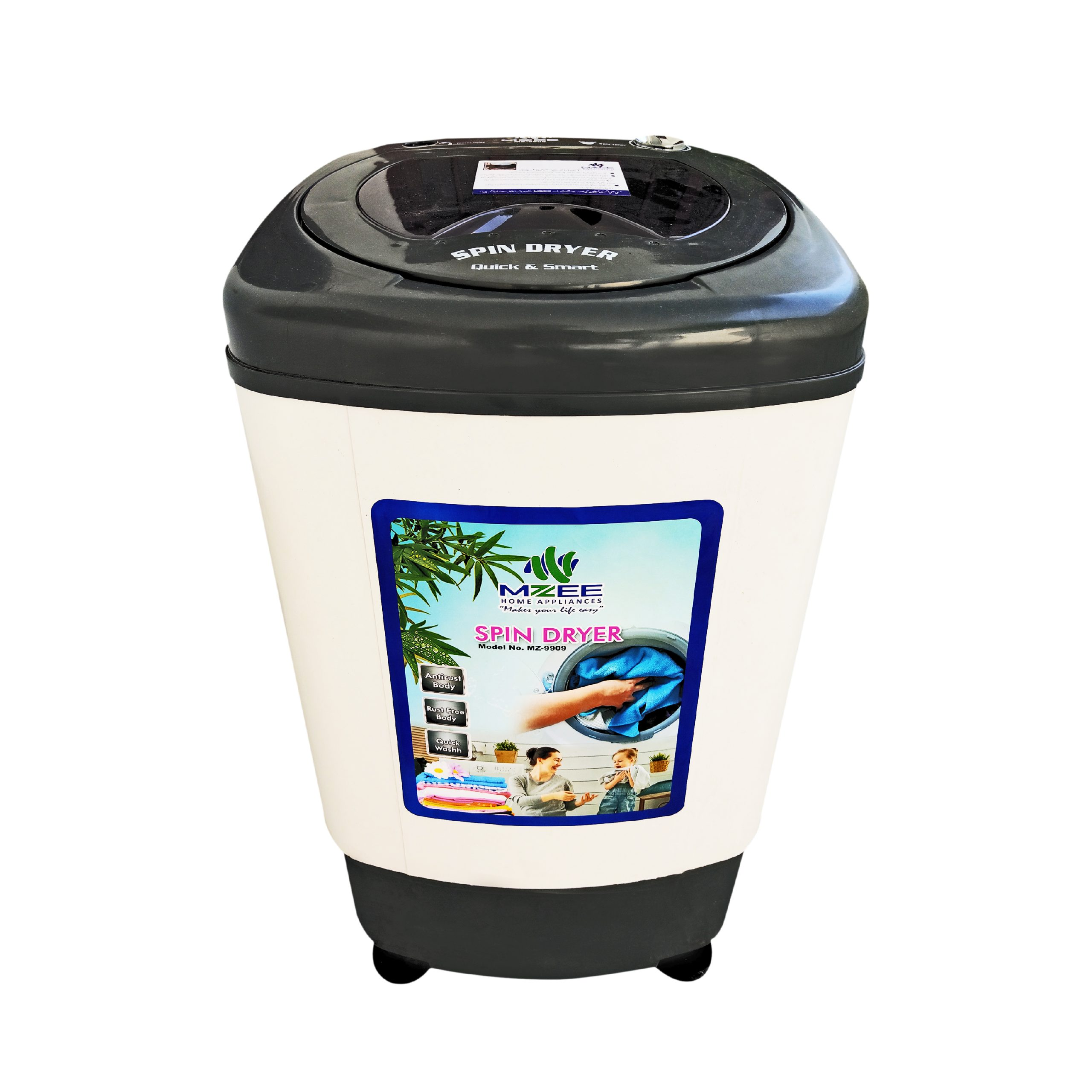 MZEE -7Kg-Single Tub Top Load Spinner Dryer MZ-9909